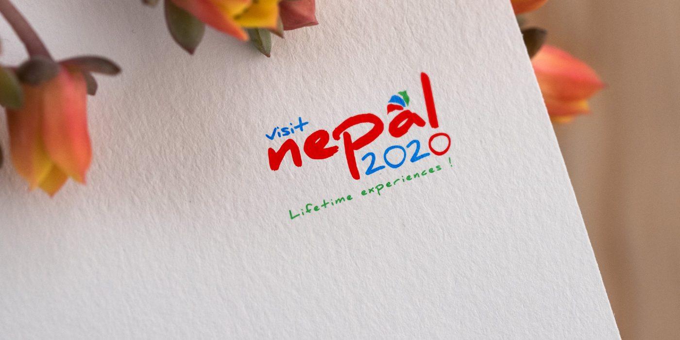 Visit Nepal 2020 Logo Design Concept | Kiran Tiwari