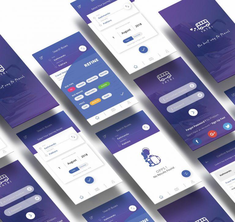 TripNP - Travel App UI