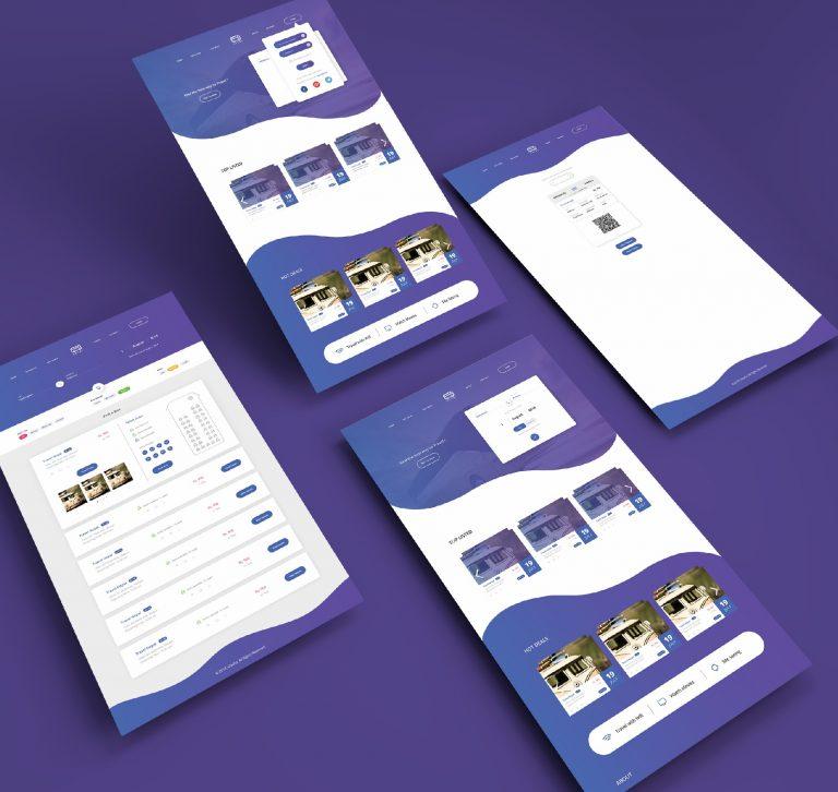 Travel App- TripNP Website UI Design